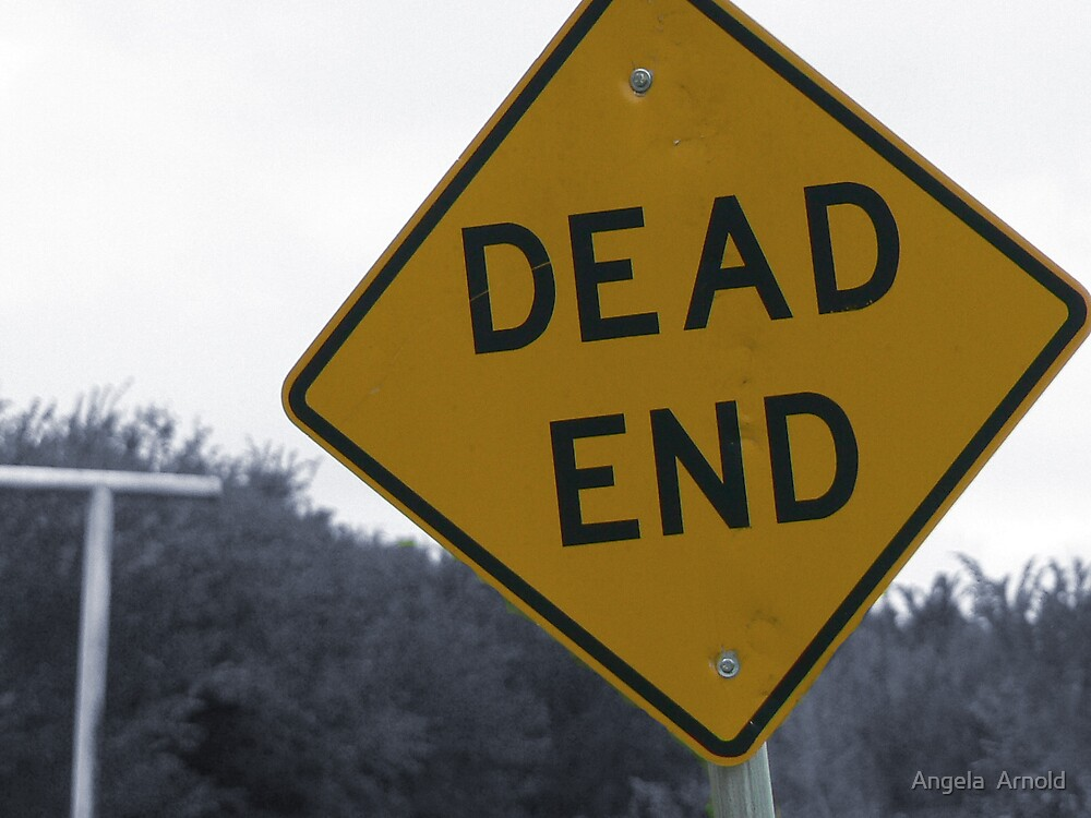 dead end by Angela  Arnold