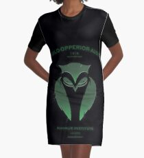 Vigilo Operior Audio Graphic T-Shirt Dress