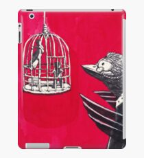 Human In Bird Cage iPad Case/Skin