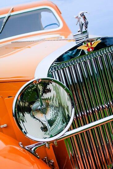 1933 Hispano-Suiza J12 Vanvooren Coupe  -0777c by Jill Reger