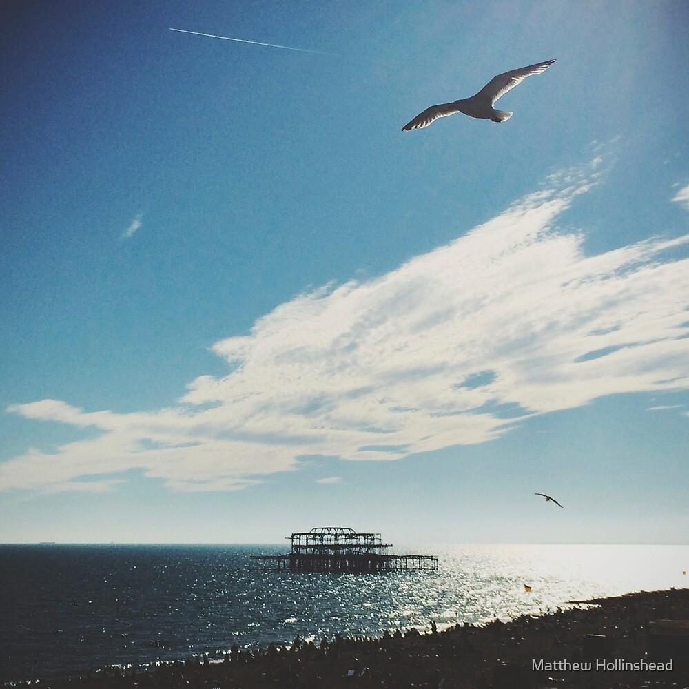 Brighton Seascape by Matthew Hollinshead