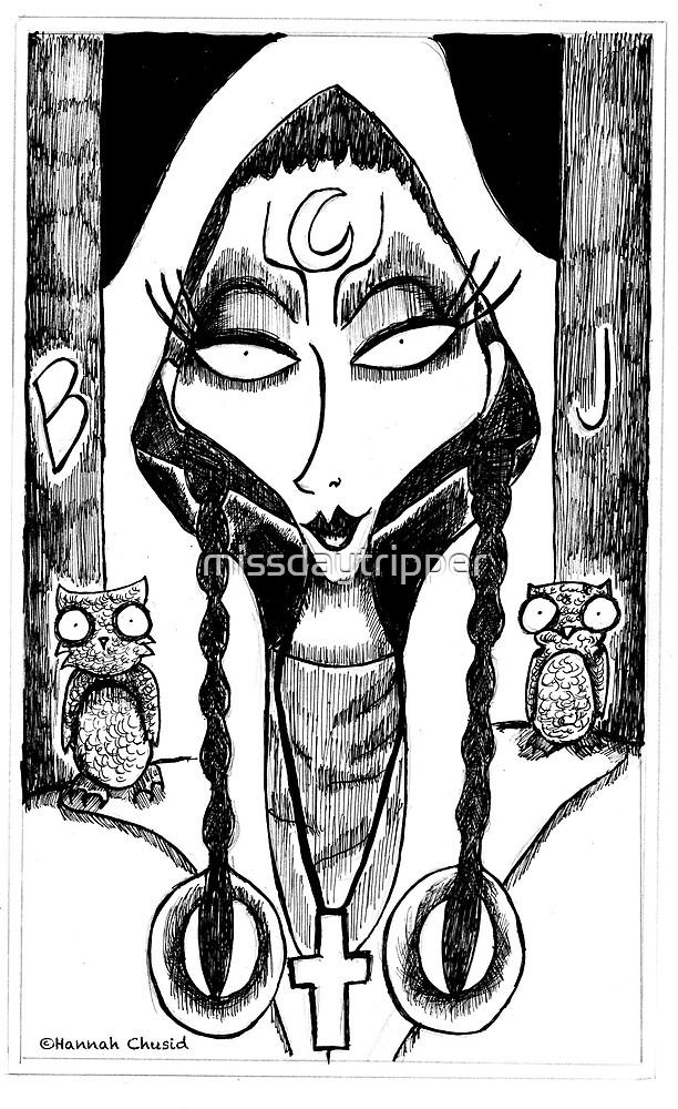 The High Priestess by missdaytripper