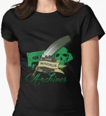 The Magnus Archives Logo Women's Fitted T-Shirt