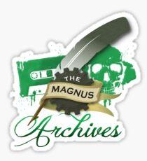 The Magnus Archives Logo Sticker