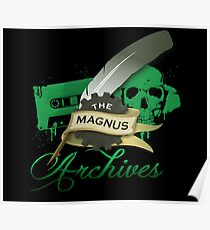 The Magnus Archives Logo Poster