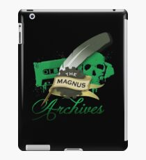 The Magnus Archives Logo iPad Case/Skin