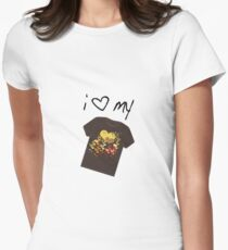 i lov my tee Women's Fitted T-Shirt