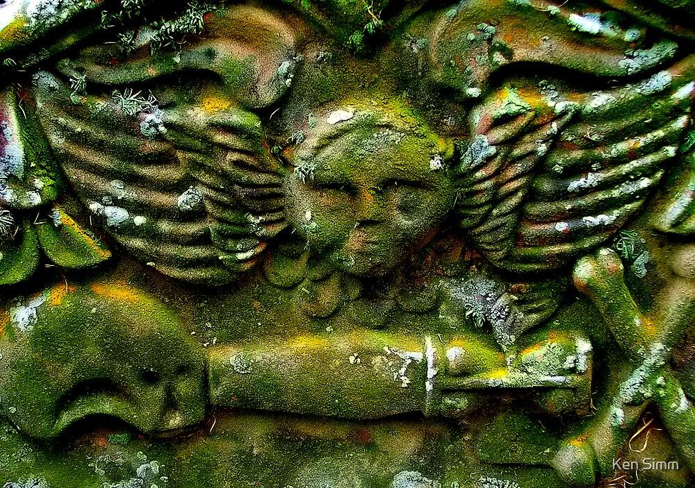 Seaman's Grave stone by Kenart