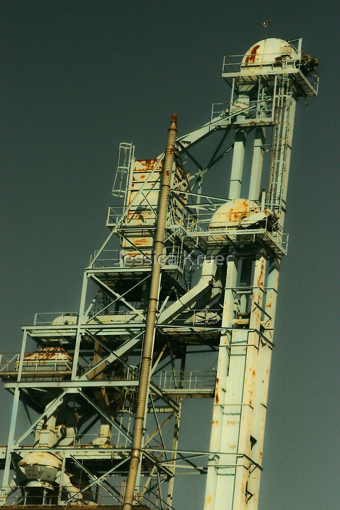 Grain Tower by Jessica Kruer