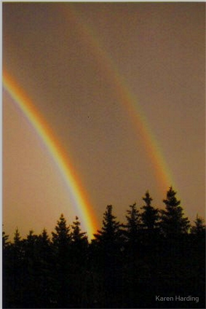 Evening Rainbow by Karen Harding