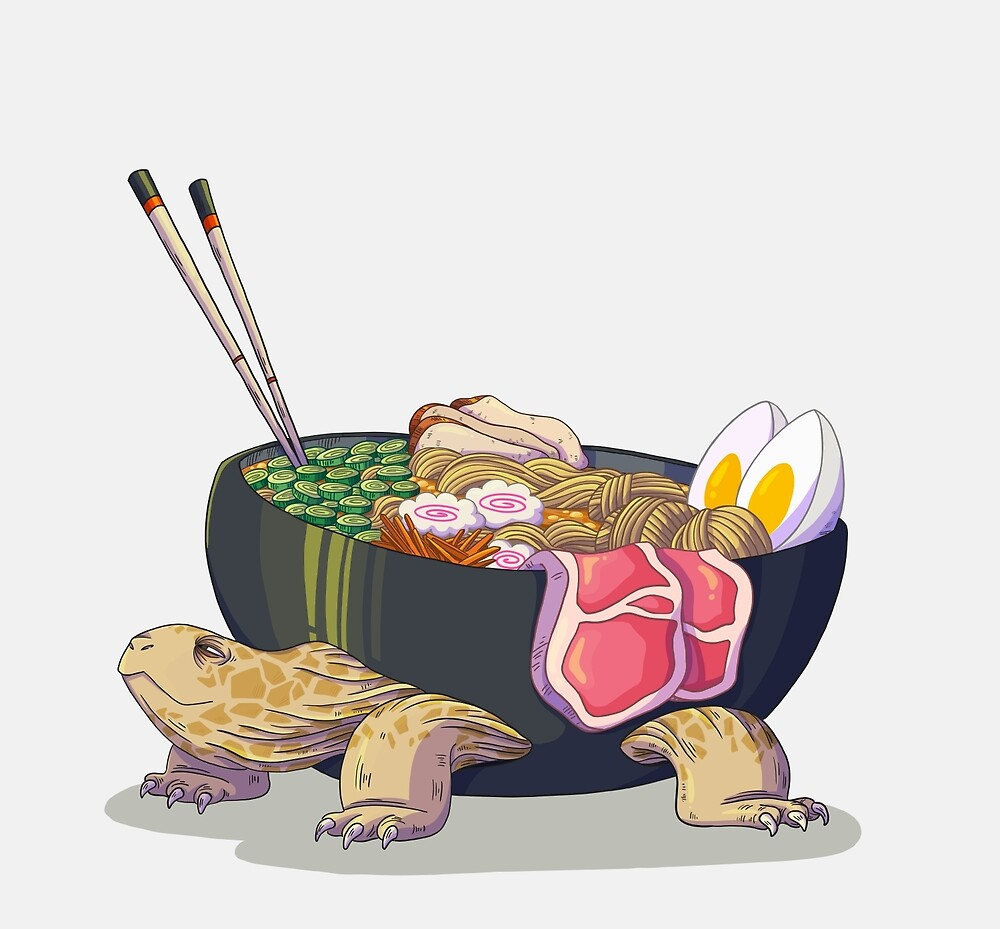 Ramen Tortoise  by VictoriaHamre