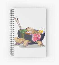 Ramen Tortoise  Spiral Notebook