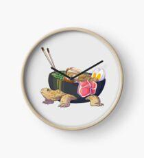 Ramen Tortoise  Clock