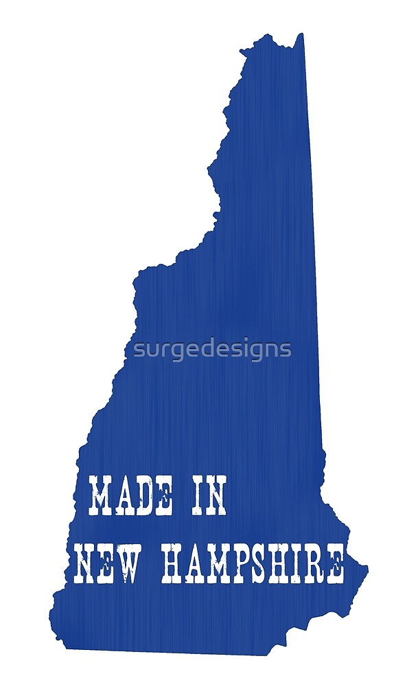 Made in New Hampshire by surgedesigns