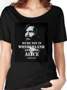 Charles Manson - Wonderland Women's Relaxed Fit T-Shirt