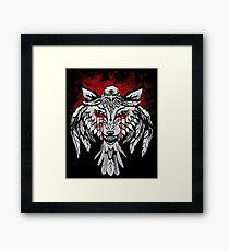 Wolf & Raven Framed Print