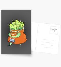 Undercover Monster Postcards