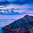 Blue Hour at Faro del Albir by Ralph Goldsmith
