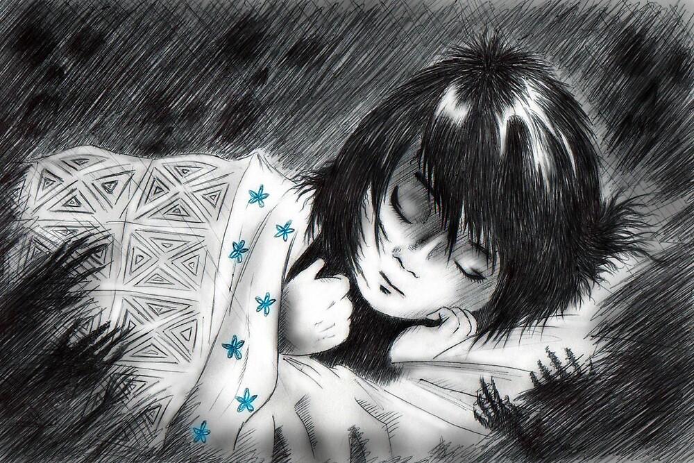 Shadows... - Sketch by Adam Stone