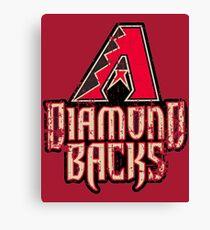 Arizona Diamondbacks var 2 Canvas Print