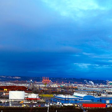 Port of Tacoma by sbphotog