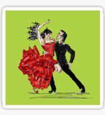 Flamenco!! Sticker