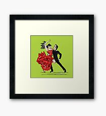 Flamenco!! Framed Print