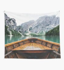 Wanderlust: Taking the Sustainable Route Wall Tapestry