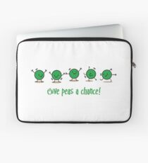 Give peas a chance! Laptop Sleeve