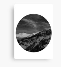 Dream scape - Monochrome Canvas Print