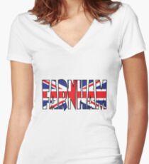 Farnham Women's Fitted V-Neck T-Shirt