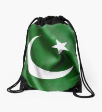 Flag of Pakistan: Drawstring Bags | Redbubble