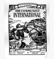 THE COMMUNIST INTERNATIONAL Poster
