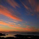 Sunset  Drumbeg viewpoint by Alexander Mcrobbie-Munro