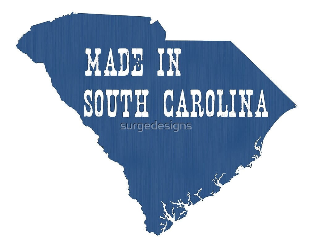 Made in South Carolina by surgedesigns