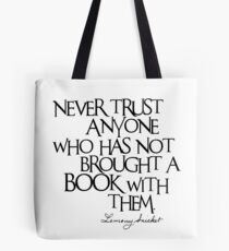 Lemony Snicket Quote Tote Bag