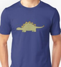 CUTE STEGOSAURUS (STEGOSAUR) DINOSAUR ILLUSTRATION T-Shirt