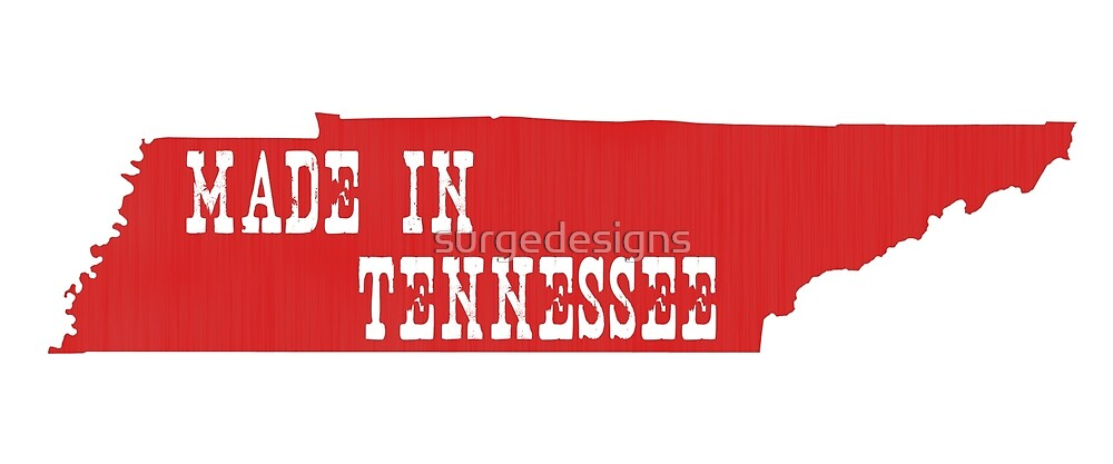 Made in Tennessee by surgedesigns