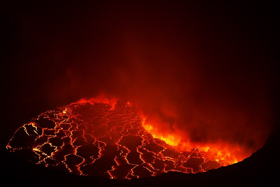 Nyiragongo 2 by Steve Axford