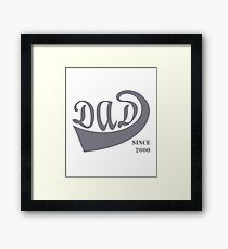 Dad since 2000 Framed Print