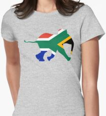 Baby Elephant in Colours of South African Flag T-Shirt