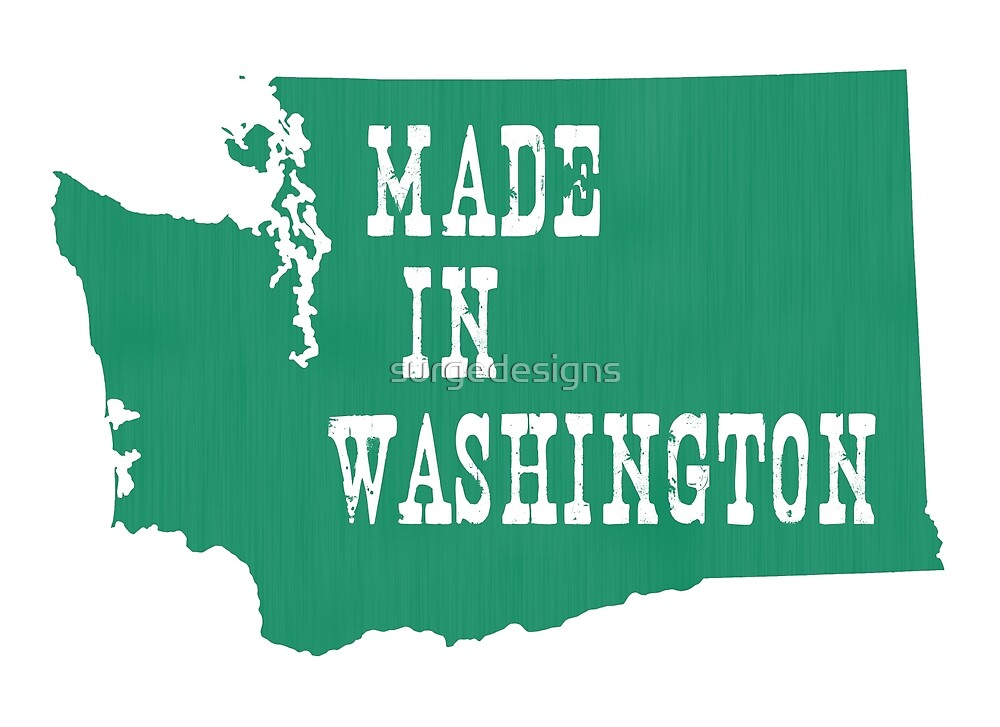 Made in Washington by surgedesigns