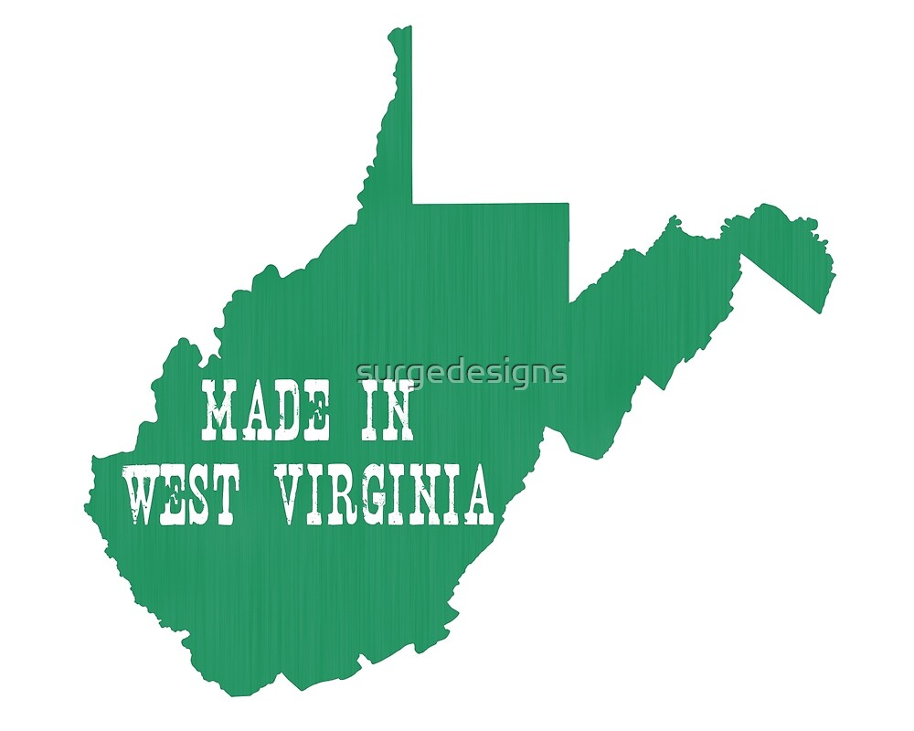 Made in West Virginia by surgedesigns