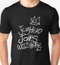 Jughead Jones wuz here  Unisex T-Shirt