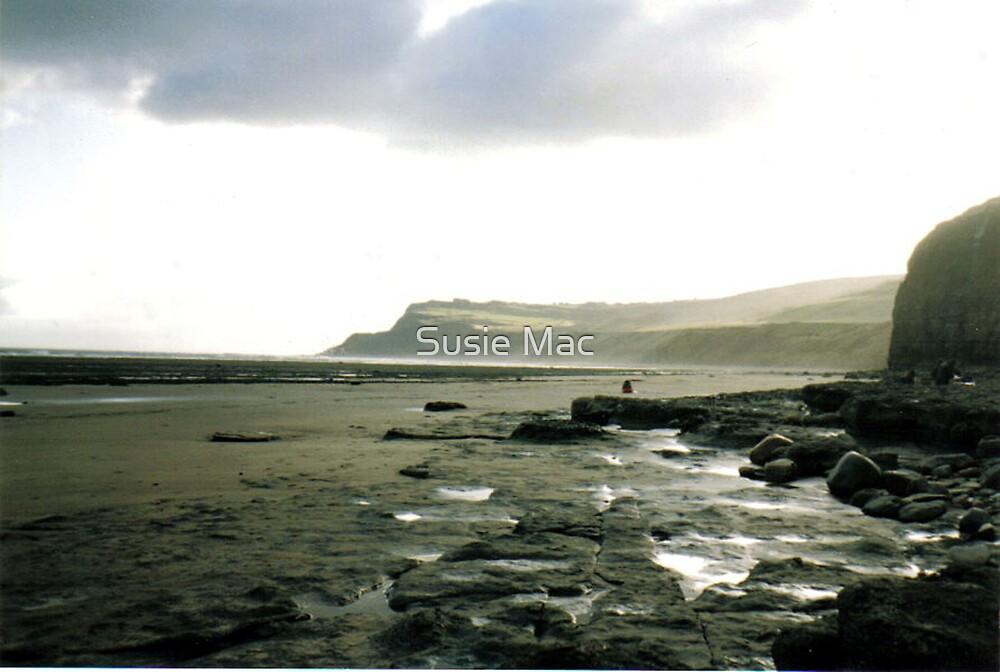 Yorkshire Beach  by Susie Mac