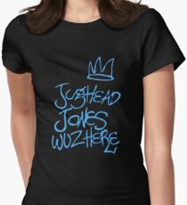Jughead Jones was here / Blue Women's Fitted T-Shirt