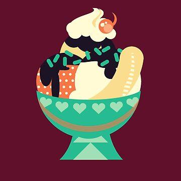 Sweet Tooth - Ice Cream Sundae by tanzelt