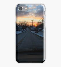 Winter Street Scene iPhone Case/Skin
