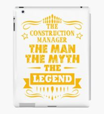 CONSTRUCTION MANAGER iPad Case/Skin