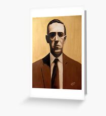 Hp lovecraft greeting cards redbubble hp lovecraft greeting card m4hsunfo